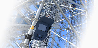 Construction site security systems and building site scaffolding alarm system hire with 24hr monitoring
