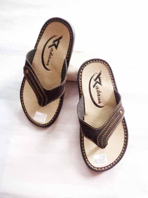 Grosir Sandal Kulit Anak Termurah | Asli Garut - 082317553851