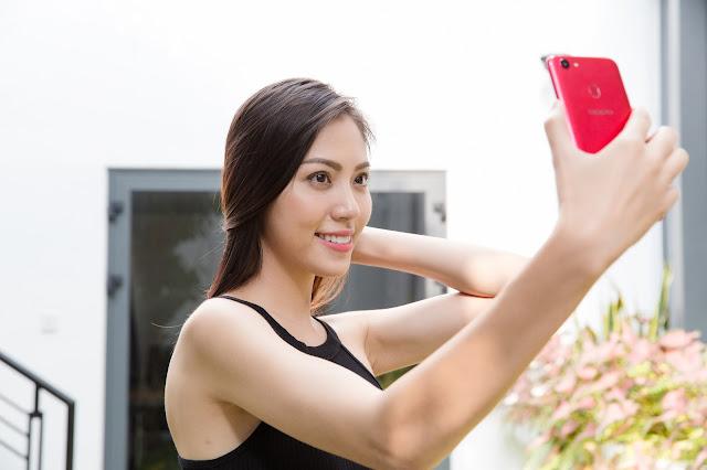 Hasil Kamera Depan Oppo F5