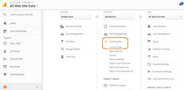 Google Analytics register