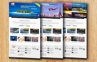 Jasa Pembuatan Website Tour & Travel