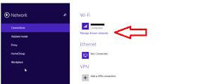 Cara Melupakan Jaringan Wifi