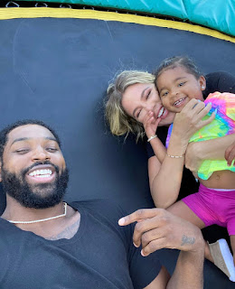 Khloe Kardashian addressed the rumors about being back with Tristan Thompson