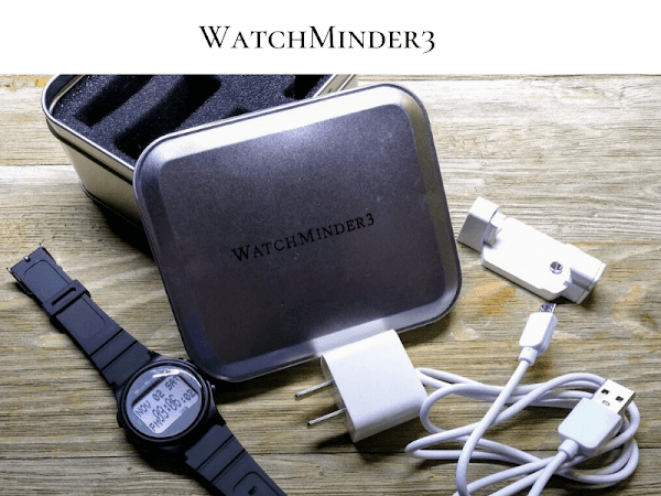 WatchMinder3 Is The Perfect, Discreet Personal Reminder For Everyone!