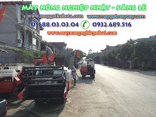 bán máy gặt thái lan kubota dc70 tại duy tiên hà nam phụ tùng máy gặt