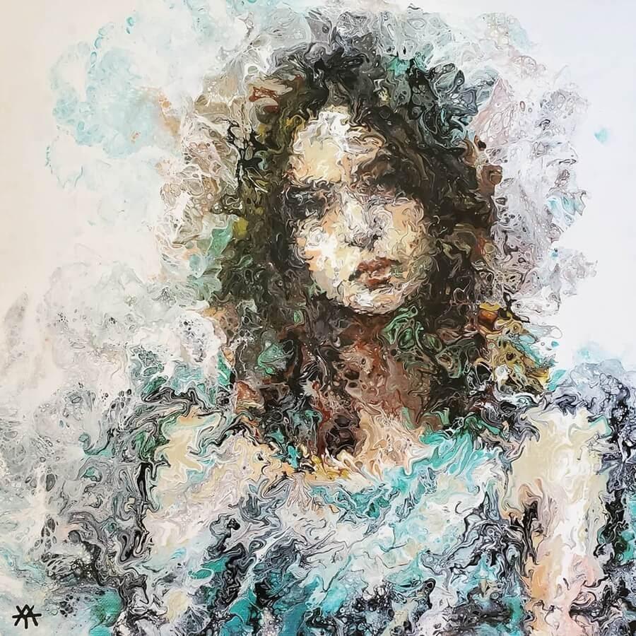 09-Acrylic-Portrait-Liz-Y-Ahmet-www-designstack-co
