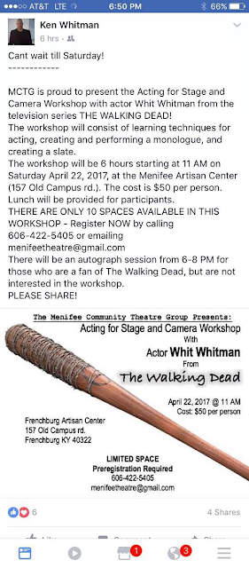 "Ken ""Whit"" Whitman acting workshop"