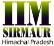 IIM Sirmaur naukri vacancy