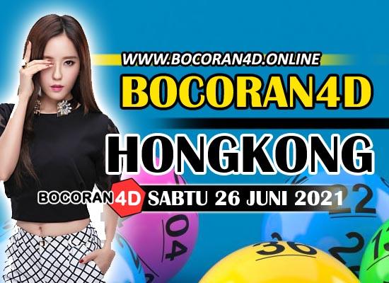 Bocoran HK 26 Juni 2021