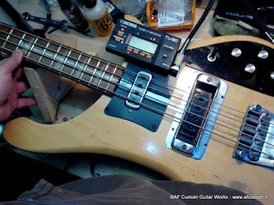 Rickenbacker setup