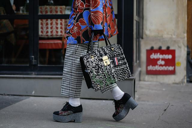 Zapatos planos con calcetines street styl