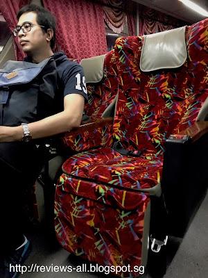 WTS Travel Bus - Singapore to Kuala Lumpur