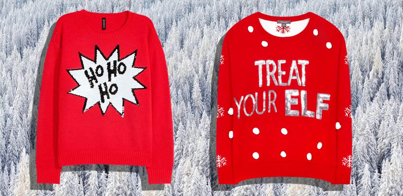 Galeria de camisolas para o natal 2017. Camisolas de Inverno. Looks de natal