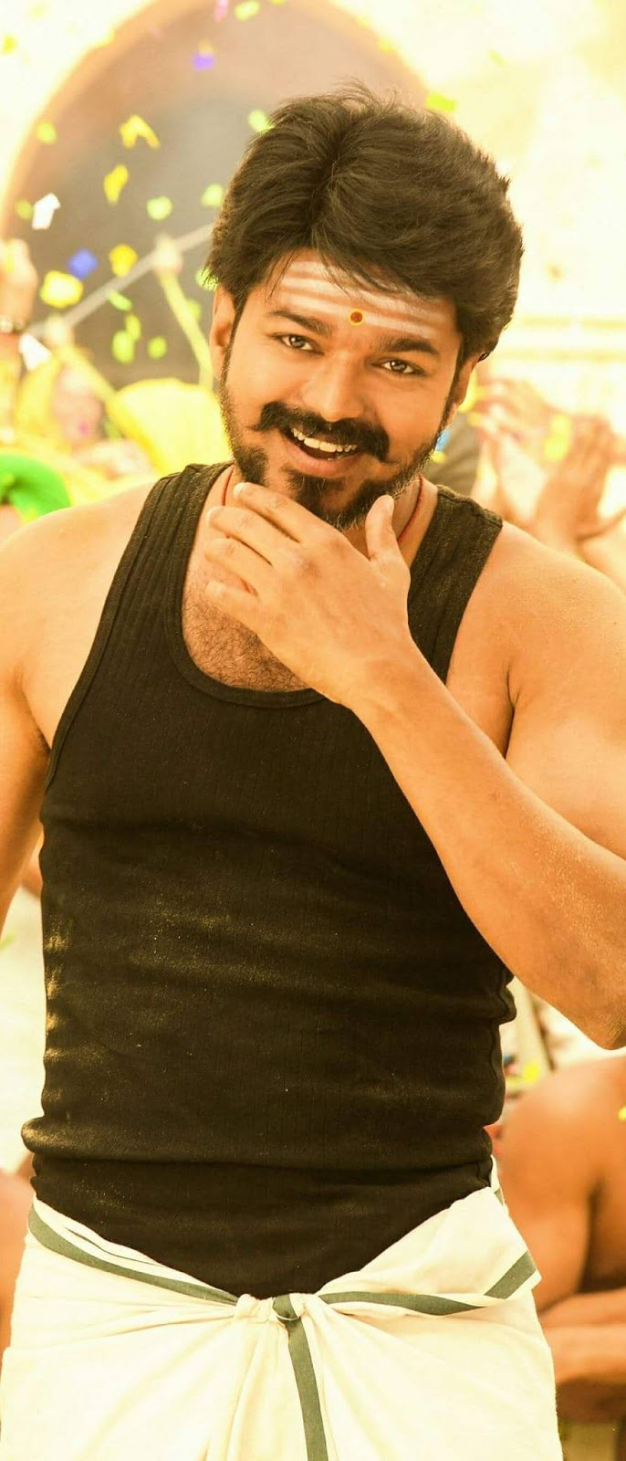 Vijay Mobile Wallpaper From The Movie Mersal 2 Tamil Movie Wallpaper Hd Mobile Walls
