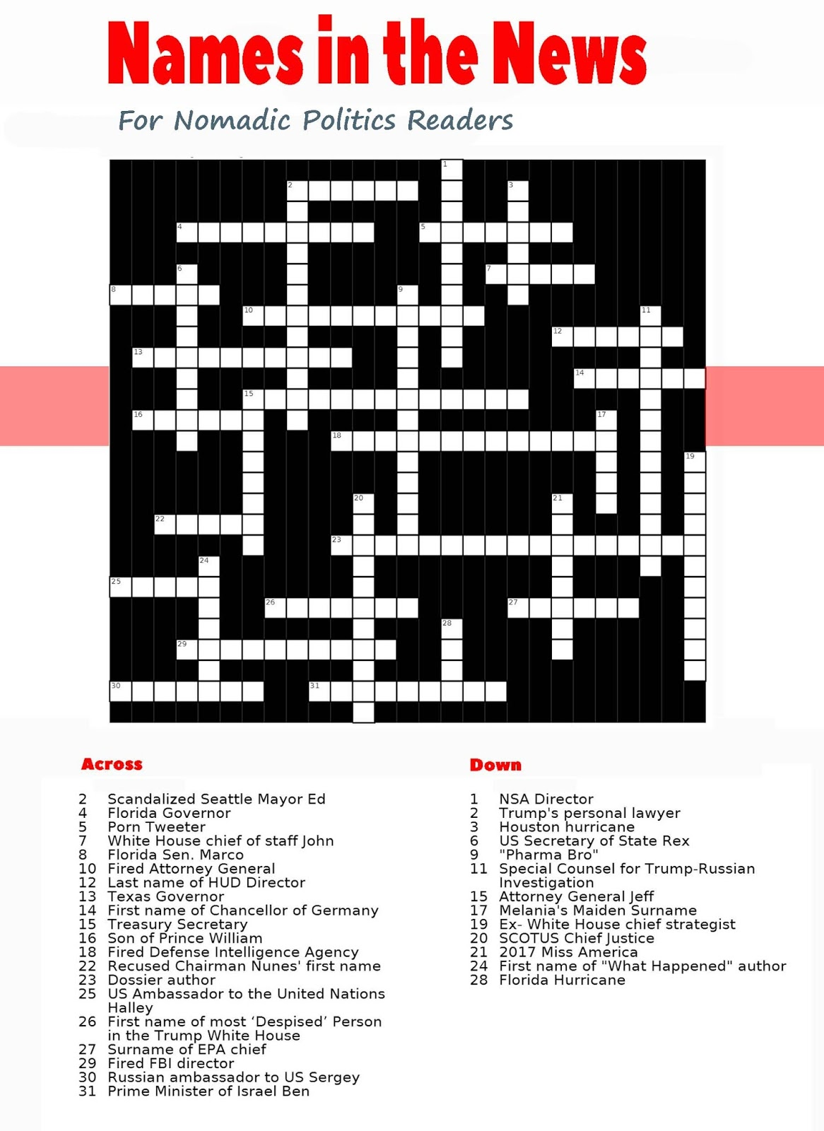 german chancellor crossword - 466×640