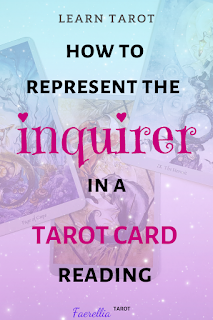 using a significator card in a tarot reading