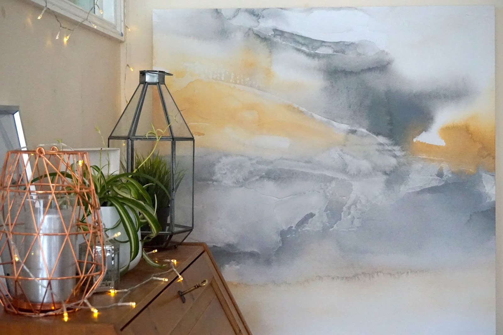 Decorating My Corner Space