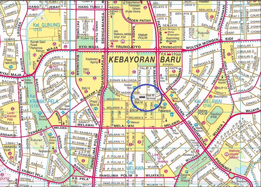 INFO JAKARTA: TERMINAL BIS BLOK M, JAKARTA