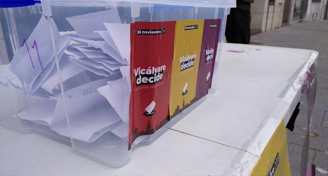 Los resultados de la consulta popular de Vicálvaro se decantan por la República