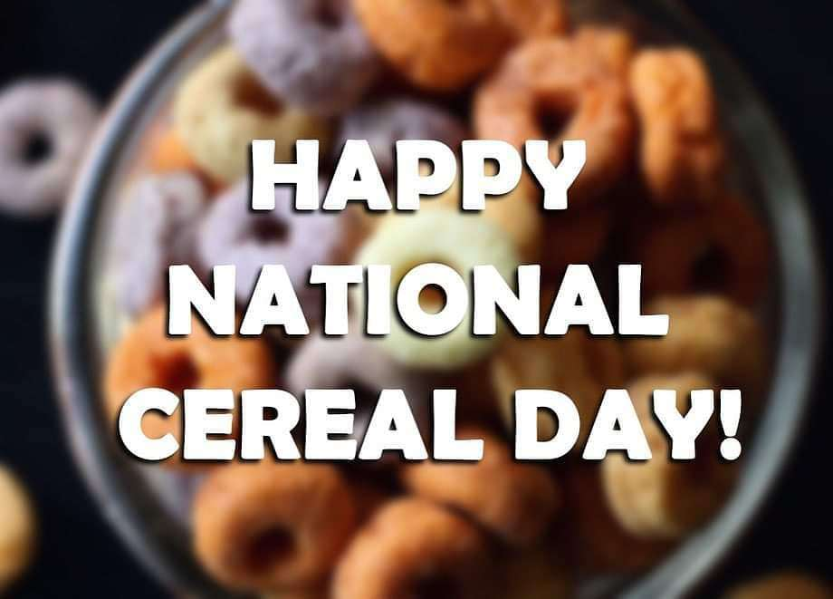 National Cereal Day Wishes pics free download