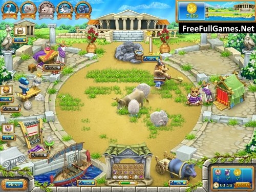 Farm Frenzy Ancient Rome PC Game Free Download Full Version
