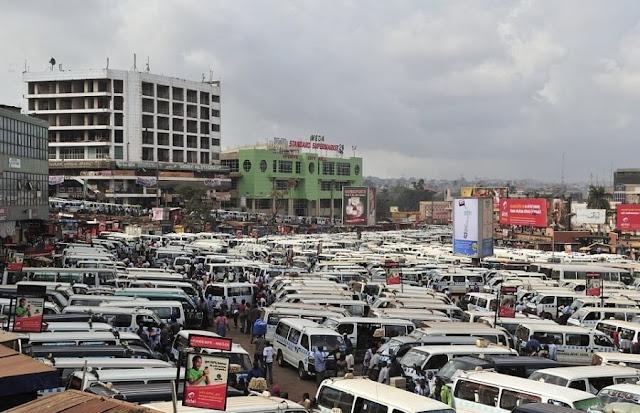 موقف سيارات الأجرة ،أوغندا