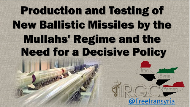 Production&Testing of New Ballistic Missiles