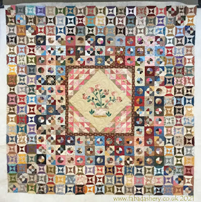 Rosa Biddlecombe Quilt made by Jenny
