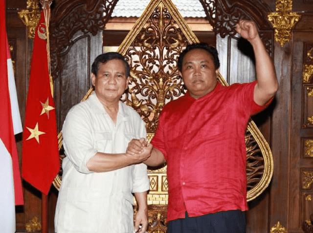 Arief Poyuono dan Prabowo