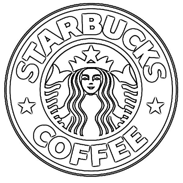 picture regarding Starbucks Logo Printable referred to as Symbol Of Starbucks Espresso Coloring Webpage - Cost-free Printable