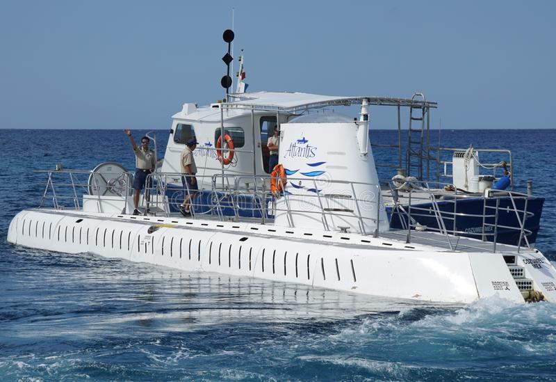 подводные лодки Atlantis в Косумель