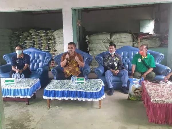 Wabup Apresiasi 2 Desa ini sebagai Garda Ketahanan Pangan di Sekadau