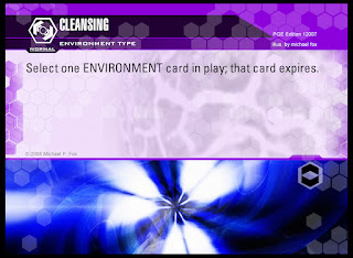 Environment type: Cleansing