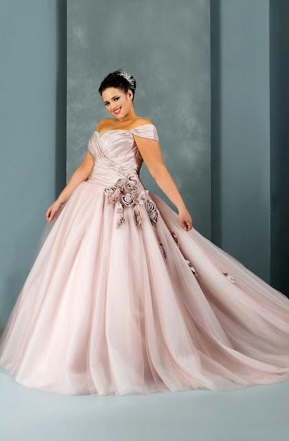 Vestido de novia para gordita a la moda