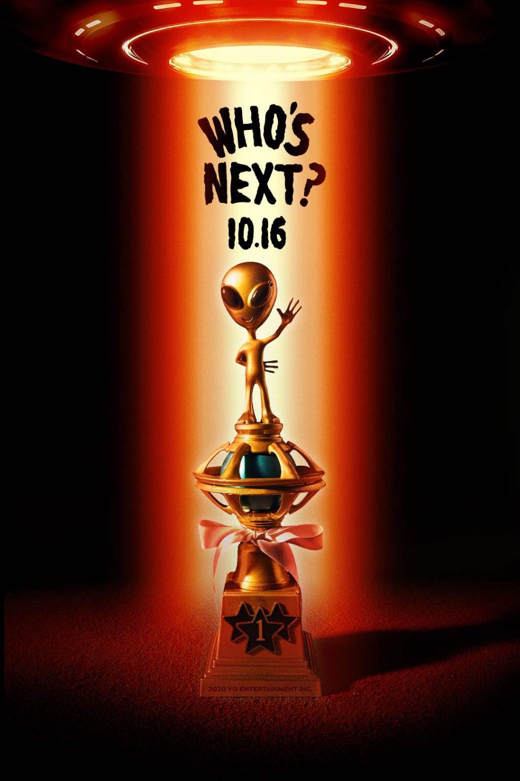 """YG Entertainment Released a """"WHO's NEXT?"""" Poster for The Next Artist Comeback"""