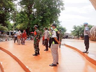 Giat Operasi Yustisi TNI Polri Di Area Objek Wisata