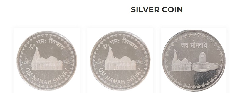 somnath silver coin buy online
