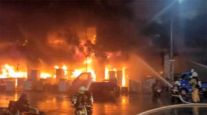 News, World, Fire, Accident, Death, Injured, Fire leaves 46 dead, more injured in southern Taiwan