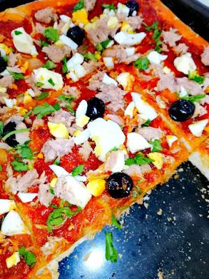 RECETTE PIZZA TUNISIENNE SUPER BONNE