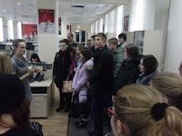 Студенты ХНЭУ им. С. Кузнеца посетили с экскурсией БСЦ САН ИнБев Украина