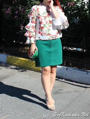 yazlık bayan karpuz çanta modeli