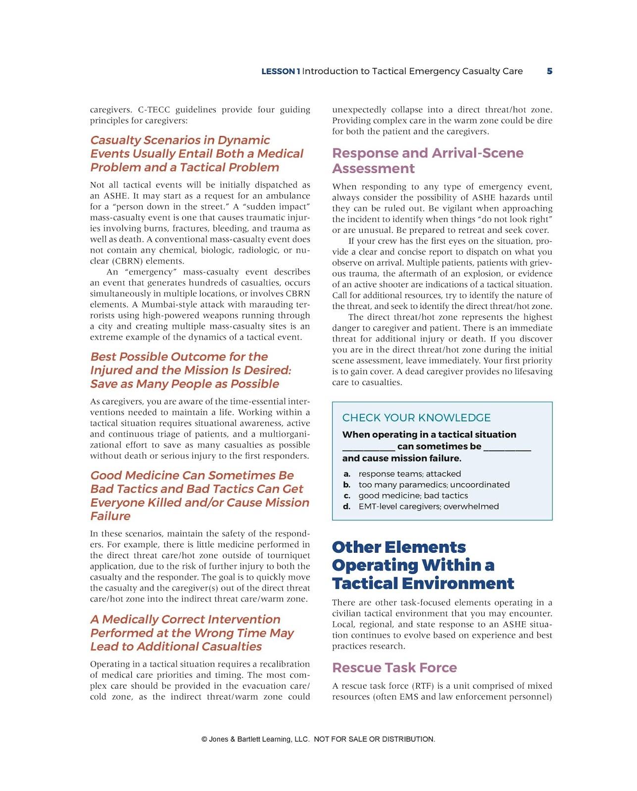 EMS SOLUTIONS INTERNATIONAL marca registrada: Tactical