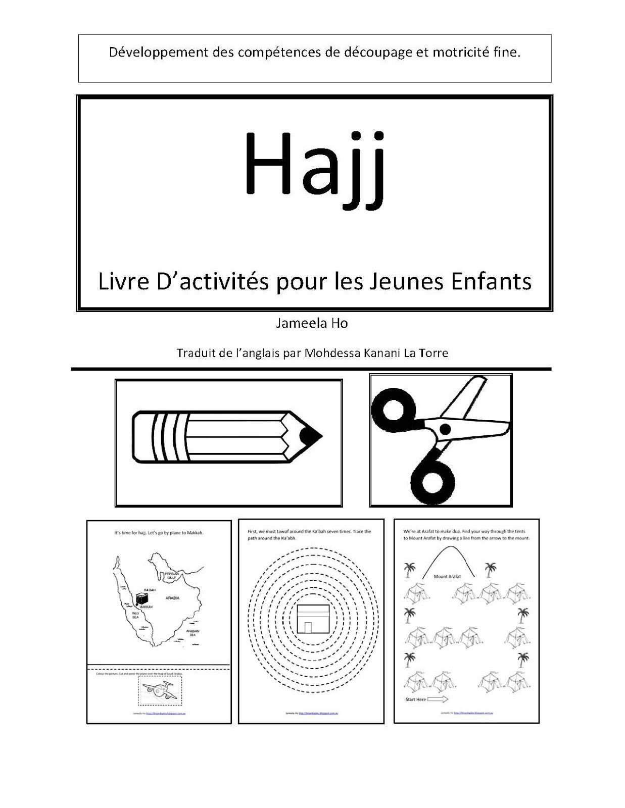 Ilma Education Hajj Livre D Activites Pour Les Jeunes