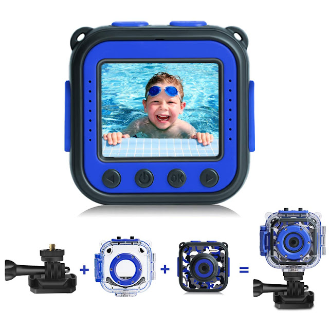 This Kids Waterproof Video Camera Is The Perfect Children Christmas Gift