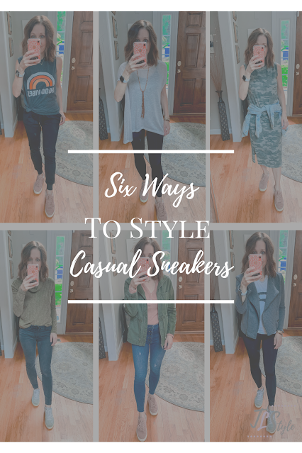how to wear sneakers fashionably, how to wear sneakers with jeans, outfits to wear with sneakers, zyia active, jeans and sneaker outfits for ladies, smart casual sneakers for women, how to dress up sneakers