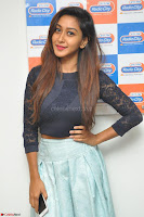 Shravya in skirt and tight top at Vana Villu Movie First Song launch at radio city 91.1 FM ~  Exclusive 161.JPG