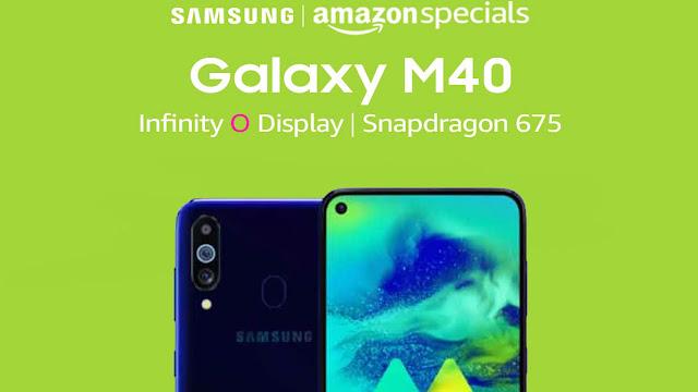 Samsung Galaxy M40,Samsung Galaxy M40 india