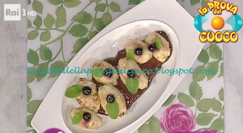 Ricetta delle Frittelle di amarene da La Prova del Cuoco