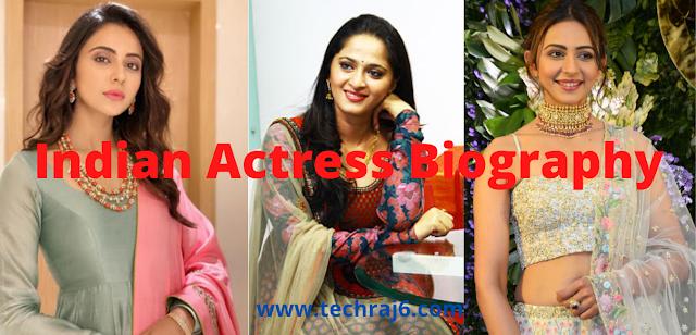 Indian Actress Biography