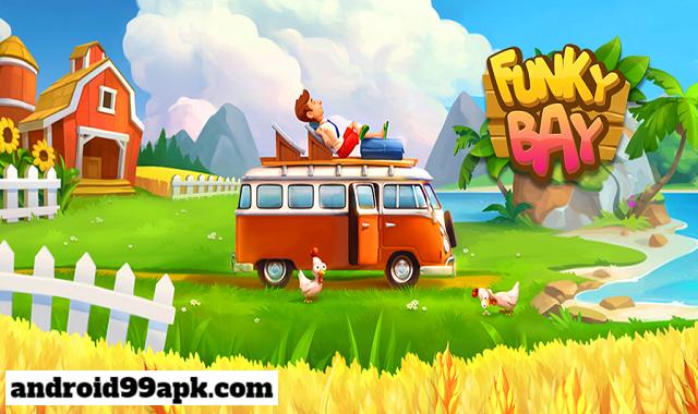 لعبة Funky Bay - Farm & Adventure v35.581.0 مهكرة (بحجم 98 MB) للأندرويد